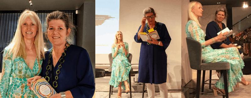 The Little Book Of Colour Launch Event Karen Haller Marianne Shillingford