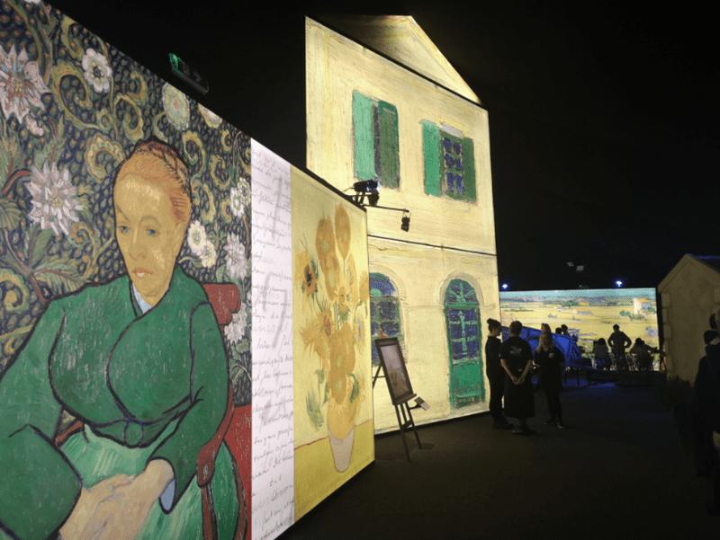 Karens Adventures In Colour For February Van Gogh Experience 1 Karen Haller