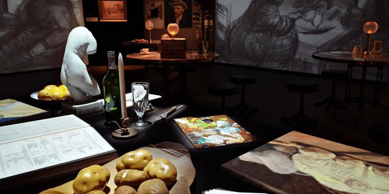 Karens Adventures In Colour For February Van Gogh Experience 2 Karen Haller