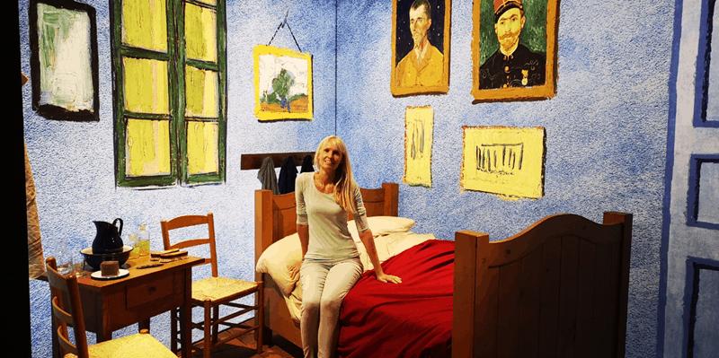 Karens Adventures In Colour For February Van Gogh Experience 4 Karen Haller